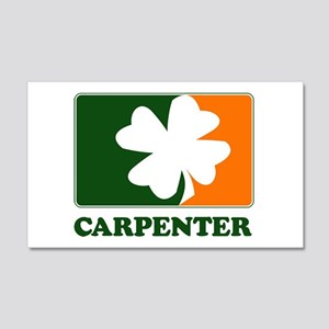 Irish CARPENTER 20x12 Wall Peel