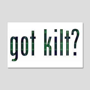 got kilt? 20x12 Wall Peel