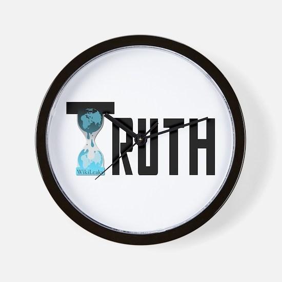 Truth Wikileaks Wall Clock