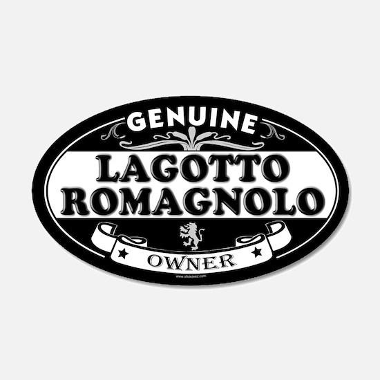 LAGOTTO ROMAGNOLO 20x12 Oval Wall Peel