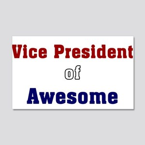 Vice President of Awesome 20x12 Wall Peel