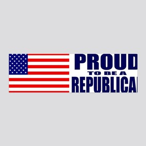 Proud to be a Republican 36x11 Wall Peel
