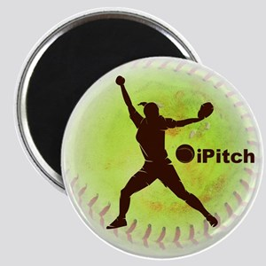 iPitch Fastpitch Softball Magnet