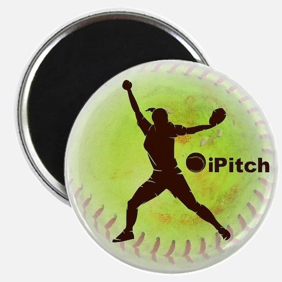 iPitch Fastpitch Softball Magnet