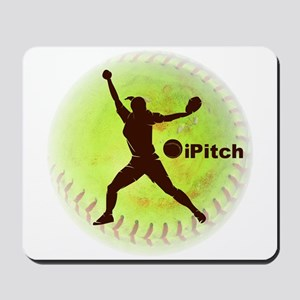 iPitch Fastpitch Softball Mousepad