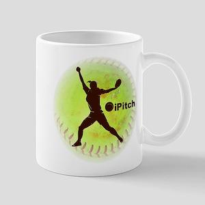iPitch Fastpitch Softball Mug