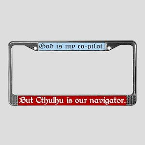 Navigator Cthulhu License Plate Frame
