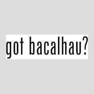Got Bacalhau? 36x11 Wall Peel