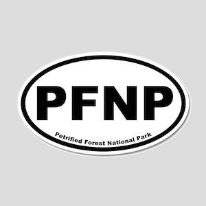 Petrified Forest National Park 20x12 Oval Wall Pee