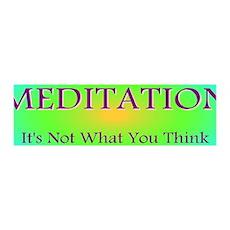 Meditation 36x11 Wall Peel