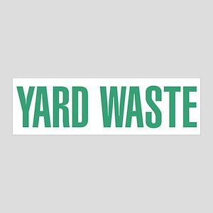 Yard Waste Sticker