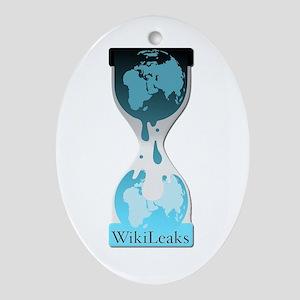 Wikileaks Ornament (Oval)