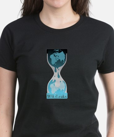 Wikileaks Women's Dark T-Shirt