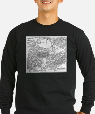 Ancient Athens Map T