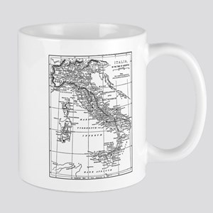 Augustus' Italy Map Mug