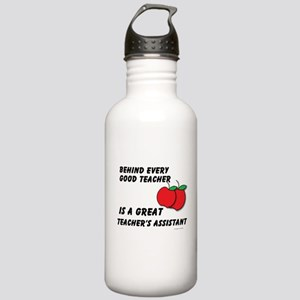 Great Teacher's Assistant Stainless Water Bottle 1