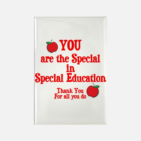 Special Education Rectangle Magnet