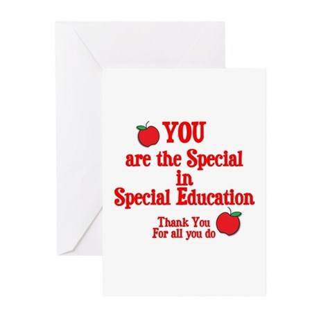 Special Education Greeting Cards (Pk of 10)