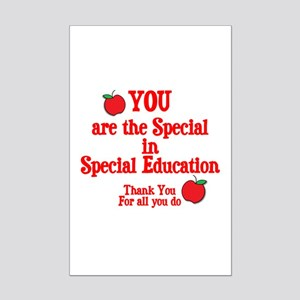 Special Education Mini Poster Print