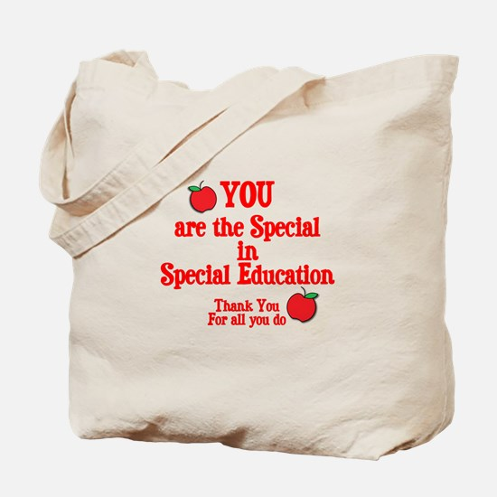 Special Education Tote Bag