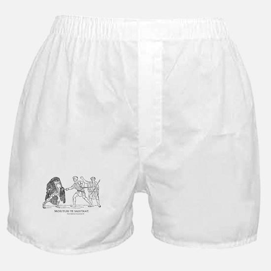 Morituri te salutant Boxer Shorts
