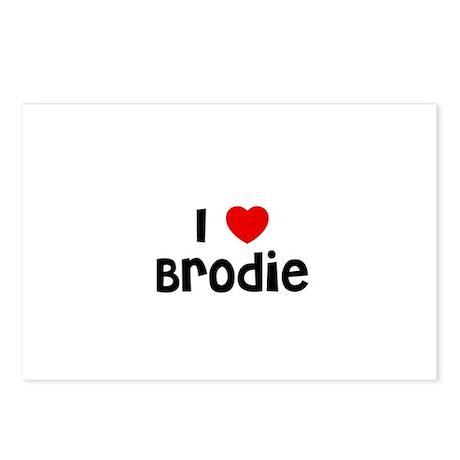 I * Brodie Postcards (Package of 8)