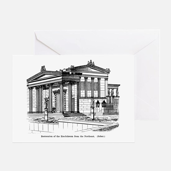 Erechtheum Reconstruction Greeting Card