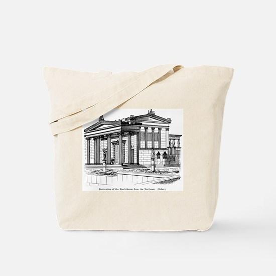 Erechtheum Reconstruction Tote Bag