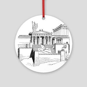 Acropolis Approach Ornament (Round)