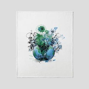 Riyah-Li Designs Earth Throw Blanket