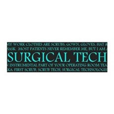 Surgical Technologist 36x11 Wall Peel