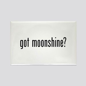 Got Moonshine Rectangle Magnet