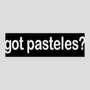 got pasteles? 36x11 Wall Peel