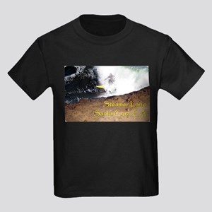 Surfing Santa Cruz Tee Kids Dark T-Shirt