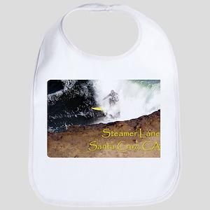 Surfing Santa Cruz Tee Bib