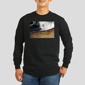 Surfing Santa Cruz Tee Long Sleeve Dark T-Shirt