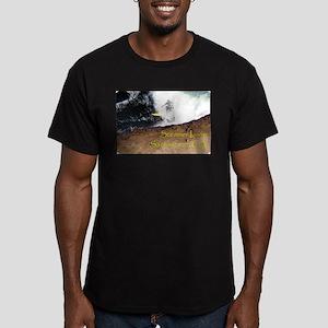 Surfing Santa Cruz Tee Men's Fitted T-Shirt (dark)