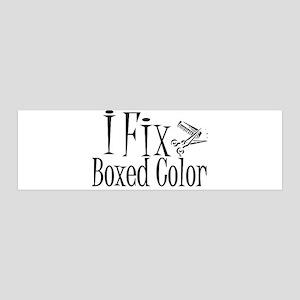 I Fix Boxed Color 36x11 Wall Peel