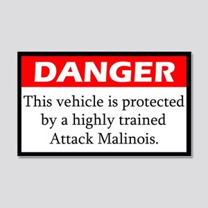 Attack Malinois Sticker