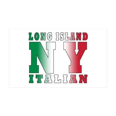Long Island Italian 35x21 Wall Peel