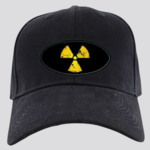 Distressed Radiation Symbol Black Cap