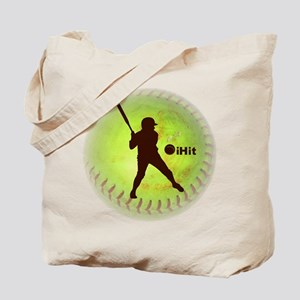 iHit Fastpitch Softball Tote Bag