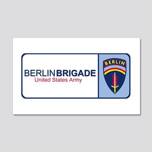 The More Berlin Brigade Stuff Sticker (Rectangular