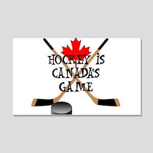 Canada's Game 20x12 Wall Peel