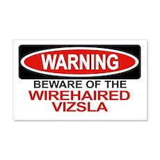 WIREHAIRED VIZSLA 20x12 Wall Peel
