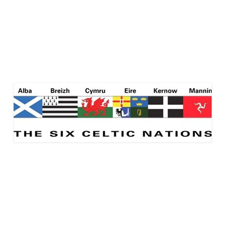 Celtic Nations 36x11 Wall Peel