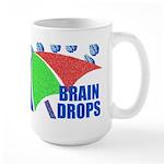 Large Brain Drops Mug