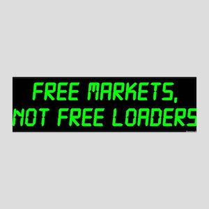 Free Markets 36x11 Wall Peel