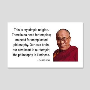 Dalai Lama 1 20x12 Wall Peel