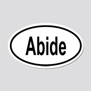 ABIDE 20x12 Oval Wall Peel